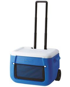 Coleman 50QT Poly-lite™ Wheeled Mesh Kühlbox