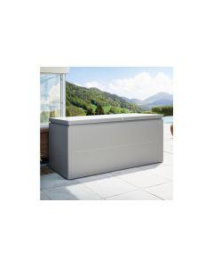 Biohort LOUNGEBOX® Design-Gartenbox Gr. 200 silber-metallic