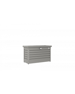 Biohort FreizeitBox Gartenbox / Kissenbox Metall Größe 100, quarzgrau-metallic