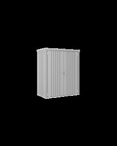 Biohort GERÄTESCHRANK Gartenschrank Gr. 150 dunkelgrau-metallic