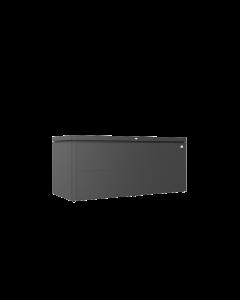 Biohort LOUNGEBOX® Design-Gartenbox Gr. 200 dunkelgrau-metallic